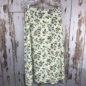 Style & Co. Maxi Floral Skirt, Size 12.  C84